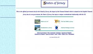 Screenshot of Gov.je in 1998