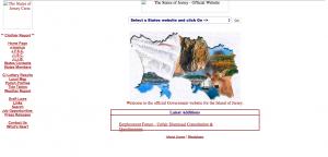 Screenshot of Gov.je in 2001